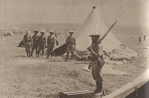 Tirailleurs tonkinois durant la grande guerre