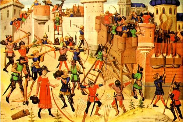 LE MONDE MEDIEVAL Siege-vers-1460