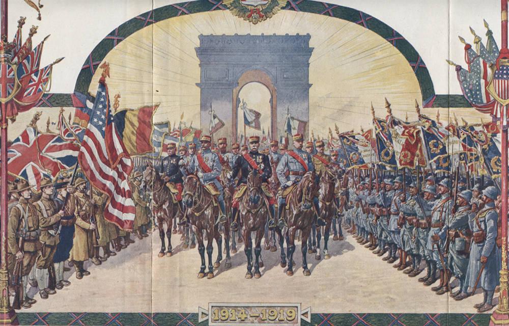La reconstitution du défilé du 14 juillet 1919 aurait fait rayonner la France